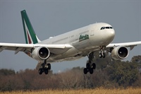 Alitalia to increase long haul capacity by 7 per cent in the summer